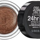MAYBELLINE COLOR TATTOO EYESHADOW  24 Hr Creme Gel BAD to the BRONZE