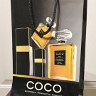 Vintage CHANEL GIFT BAG Glossy Paper Shopping Bag COCO Fragrance Collectible