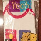 Baby WINNIE the POOH DIAPER COVER SET Infant MEDIUM 100% Cotton 2 Piece
