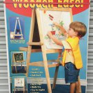 Kids WOOD ART EASEL Adica 2 in 1 Draw Board/Chalk Board Standing WITH SUPPLIES