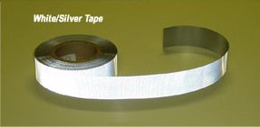 White DOT Reflective Conspicuity Tape