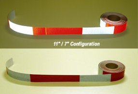 "2"" x 150' KISS CUT DOT Reflective Conspicuity Tape Roll"