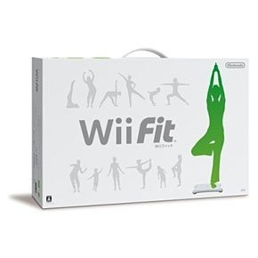 NINTENDO WII FIT BOARD WITH WII FIT GAME- JAPAN VER.