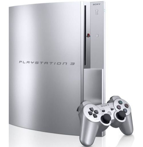 PS3 SYSTEM 80GB (SATIN SILVER COLOR)