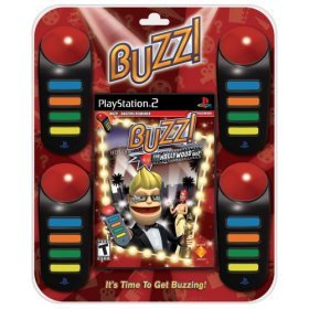 PS2 BUZZ- Hollywood Quiz