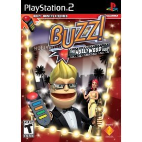 PS2 BUZZ- Hollywood Quiz Stand Alone