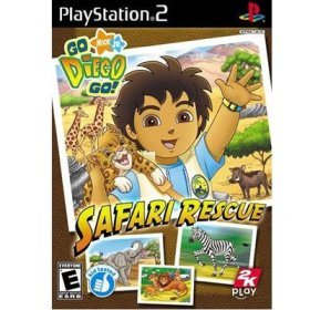 PS2 Go Diego Go -Safari Rescue