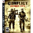 PS3 CONFLICT- DENIED OPS