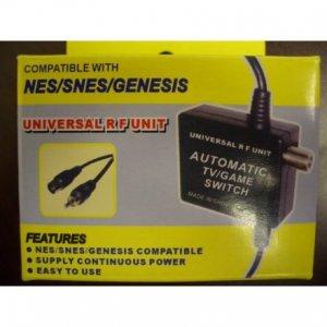 Universal RF Unit adapter for NES SNES Genesis