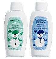 Avon Moisture Therapy Holiday Body Wash Mini Free Shipping
