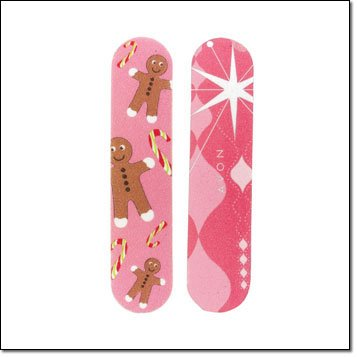 Avon Emery Board ~ Gingerbread Man ~  Flower ~  Avon Name ~ Random Pick