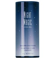Night Magic Evening Musk Shimmering Body Powder Lot of Five loc14