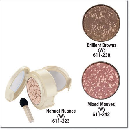 Avon Color Confetti Eyeshadow - Brilliant Browns (w) - Discontinued Eye Shadow