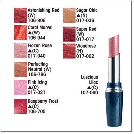 Avon MY LIP MIRACLE Lipcolor Lipstick Lip Stick ~ Raspberry Frost (C)(S) Discontinued