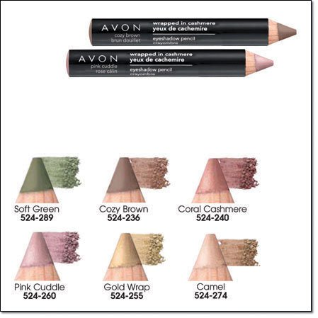 Avon Big Color Eye Pencil Eyeliner Wrapped In Cashmere Coral Cashmere ~ Discontinued Eyeshadow Liner