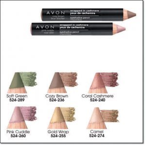 Avon Big Color Eye Pencil ~ Wrapped In Cashmere ~ Soft Green ~ Discontinued Eyeshadow Liner