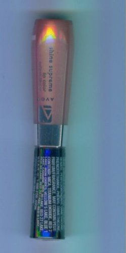 Avon SHINE SUPREME Lip Color Gloss - Sugarcoated Pink (C) - Discontinued Limited Supplies