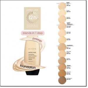 Avon PERFECT WEAR EXTRALASTING LIQUID FOUNDATION SPF 15 MAHOGANY Discontinued location2