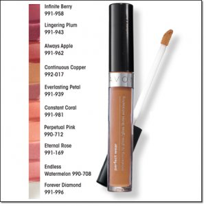 Avon Perfect Wear Extralasting Lipcolor ~ Continuous Copper W502 ~ Discontinued Box1