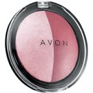 Avon Satin Deluxe Blush Mauve Duo Discontinued loc29
