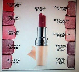 Avon Healthy Makeup Lipstick Blooming Berry
