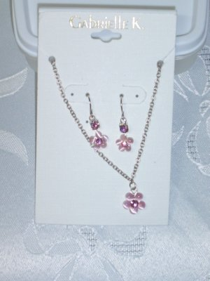 GABRIELLE K. NECKLACE & EARRINGS SET ( MIRIAM HASKELL JEWELS  OWNS THE COMPANY)