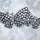 RHINESTONE DESIGNER BARRETTE~PALM BEACH BOUTIQUE~HAIR JEWELRY