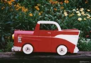 1957 CHEVY MAILBOX