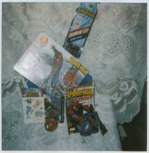 Fantastic Spiderman Gift Basket