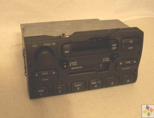 Lincoln Town Car AM/FM Stereo Tuner/Cassette OEM Part