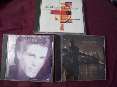 Songs from the Night Before, Pearls and Love Songs by David Sanborn BMG Direct