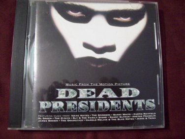 DEAD PRESIDENTS MOVIE SOUNDTRACK Various Artists James Brown and more 1995 Arista Records BMG Direct