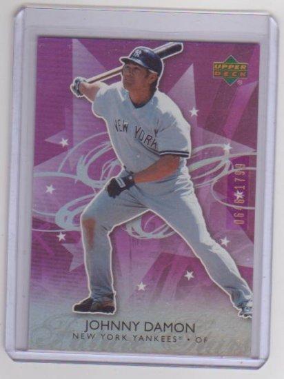 JOHNNY DAMON 2006 UD FUTURE STARS PURPLE #45