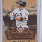 DAVID WRIGHT 2006 FLEER LUMBER COMPANY #LC-11