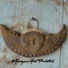 Primitive Beeswax Moon Angel