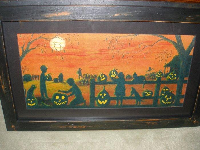 Halloween Art Print
