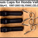 Three Vacuum Caps Honda Valkyrie, Viton-B  (Version 5), GL1500C GL1500CD GL1500CT GL1500CF