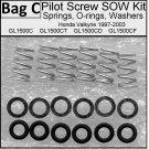 Pilot Screw SOW Kit  Fits Valkyrie, Viton GF. GL1500C GL1500CD GL1500CT GL1500CF