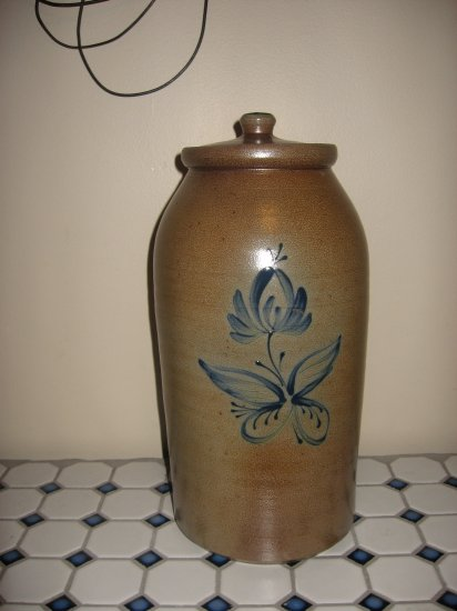 Rowe Pottery 2008 Historical Collection Large Canister