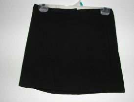 Express Stretch Black Skirt sz 5/6 EUC