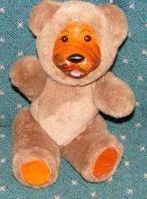 Wooden Face/Pads Bear Jointed Arms/Legs GUC