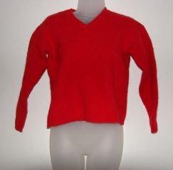 Womens New York & Company Red Wool Sweater sz M