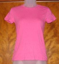 Womens Pink Gap T-Shirt sz Small VGC
