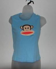 Womens/Juniors Paul Frank Julius & Friends Monkey Tank sz Small