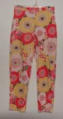 ~*~ Womens Anne Klein Floral Print Pants sz 4 ~*~