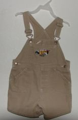 Boys Baby Gap Khaki Woody Car Shortalls sz 3xl VGC Surfing