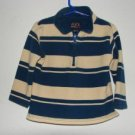 Boys The Children's Place Striped Zip-Up Pullover sz 24 Mos. EUC