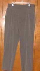Womens Lane Bryant Gray Pants Slacks sz 16 Average VGC