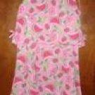 Girls 2Pc Kellys Kids Summer Watermelon Fruit Print Dress Set 7/8