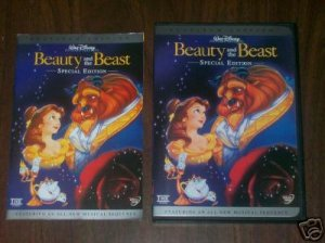 BEAUTY AND THE BEAST PLATINUM 2 DVD SP EDITION.